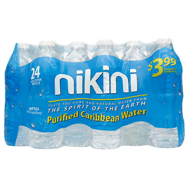 Nikini Purified Caribbean Water (16.9 fl. oz., 24 pk.)