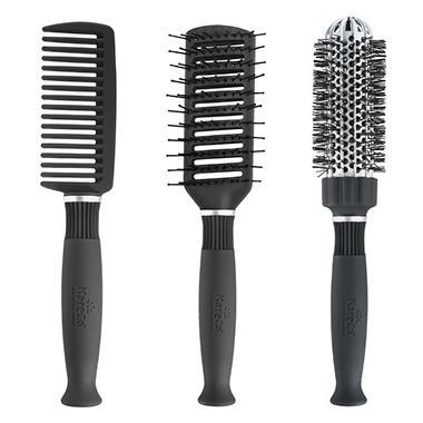 KareCo Glamourous Professional Styling 3-Piece Brush Set