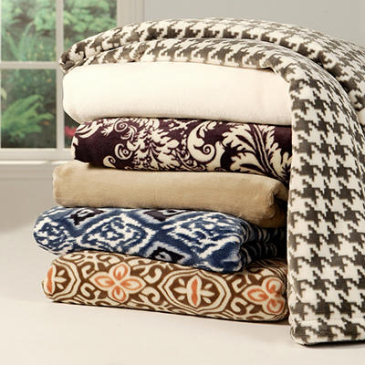 "Lounge Throw (60"" X 70"") - Various Colors"