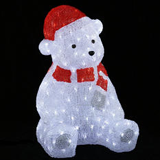 1.8 ft indoor/Outdoor LED Bear