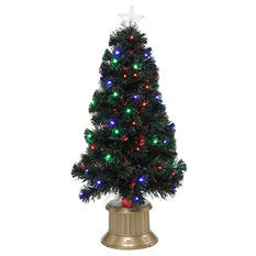 "36"" LED Tree with Fiber Optics"