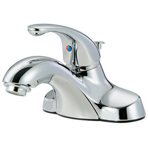 Hardware House Single Handle Bathroom Faucet w/ Chrome Finish
