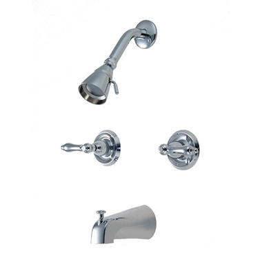 Hardware House Single Handle Tub/Shower Mixer w/ Chrome Finish