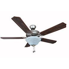 Hardware House Dover 52in Ceiling Fan - Satin Nickel