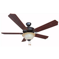 "Hardware House Dover 52""  Ceiling Fan - Classic Bronze finish"