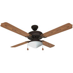 "Hardware House Jamaica 52"" Wet Ceiling Fan - Classic Bronze finish"