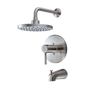 Hardware House Single Handle Tub/Shower Mixer w/ Brushed Nickel Finish