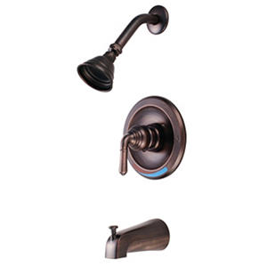 Hardware House Single Handle Tub/Shower Faucet w/ Classic Bronze Finish