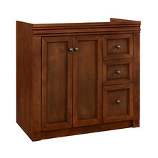 "Hardware House Savannah 36""x21"" Vanity - Chestnut"