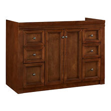 "Hardware House Savannah 48""x21"" Vanity (Chestnut)"