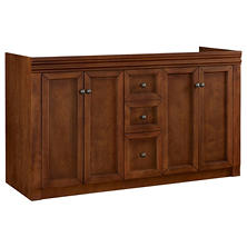"Hardware House Savannah 60""x21"" Vanity - Chestnut"