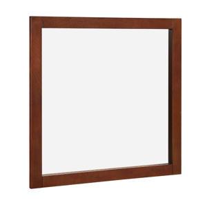 "Hardware House 30""x30"" Vanity Mirror (Chestnut)"