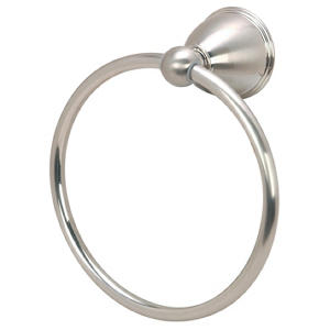 Hardware House Highland Satin Nickel Towel Ring