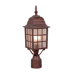 Hardware House Outdoor Post Light - Artesian Bronze