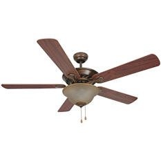 "Hardware House Madrid 52"" Ceiling Fan - Antique Bronze Finish"