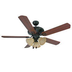 "Hardware House Seville 52"" Ceiling Fan - Classic Bronze"