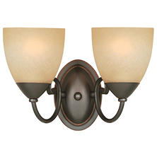 Hardware House Berkshire 2-light Bath/Wall Light - Classic Bronze