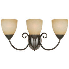 Hardware House Berkshire 3-Light Bath/Wall Light - Classic Bronze