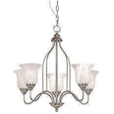 Hardware House 5 LT Saturn Chandelier