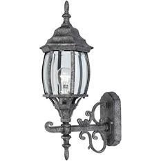 Hardware House Outdoor Coach Lantern - Antique Silver