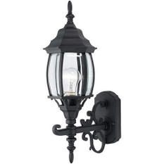 Hardware House Outdoor Coach Lantern - Textured Black