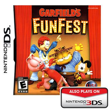 Garfield's Fun Fest - NDS