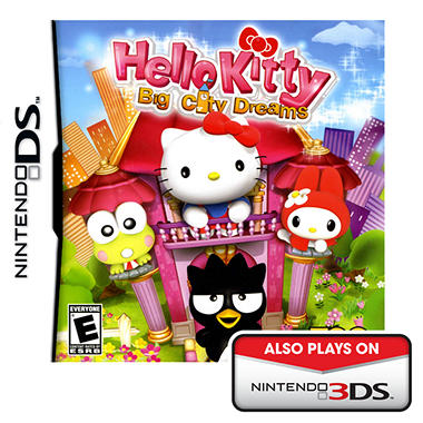 Hello Kitty: Big City Dreams - NDS