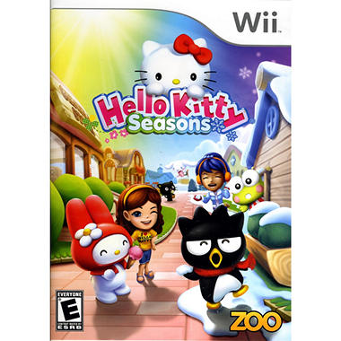 Hello Kitty Seasons - Wii