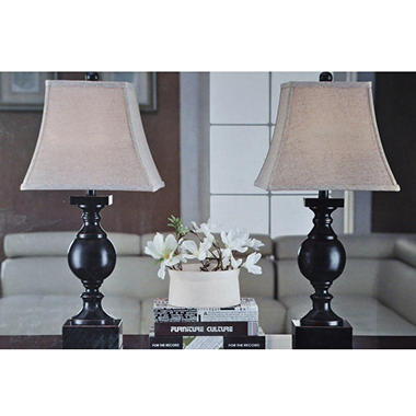 2PK TABLE LAMPS