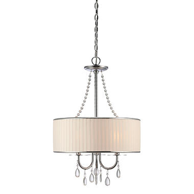 Clarissa 3 Light Crystal Pendant Lamp
