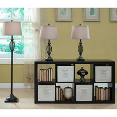The Cambridge Collection 3 Pack Lamp Set