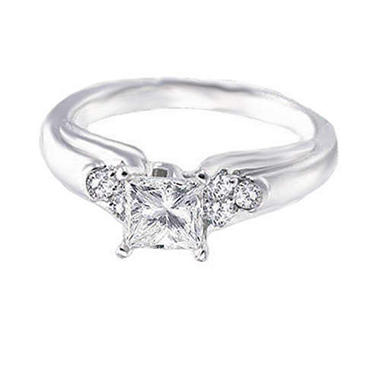 .85 ct. t.w. Princess-Cut Diamond Ring (H-I, SI2)