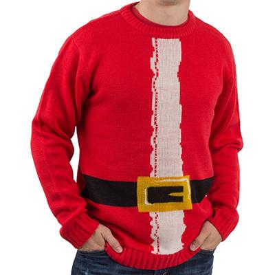 Blitzen & Co. Santa Christmas Sweater