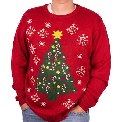 Blitzen & Co. Christmas Tree Sweater