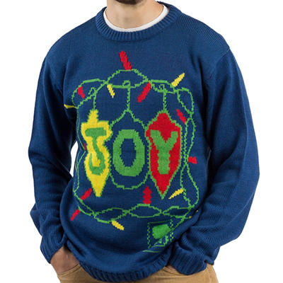Blitzen & Co. Joy Christmas Sweater