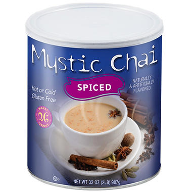 Mystic Chai Tea Mix - Spiced or Vanilla - 2 lbs.