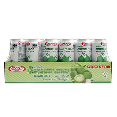 Tasco® Young Coconut Juice - 24/16.9oz
