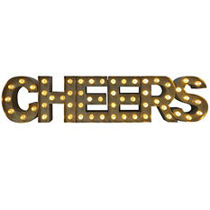 Cheers Lighted Marquee Sign