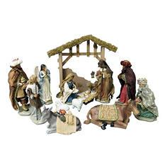 14-Piece African American Nativity Scene