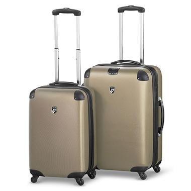 Heys USA Valet 2 Piece Lightweight Luggage Set - Bronze