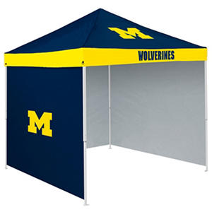 NCAA Michigan Tent with Team Side Panel