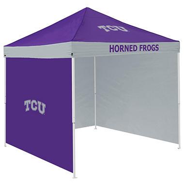 NCAA TCU Tent with Team Side Panel