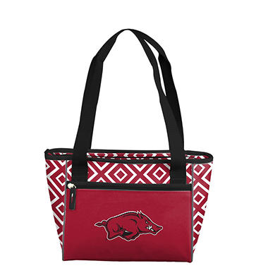Arkansas DD 16 Can Cooler Tote