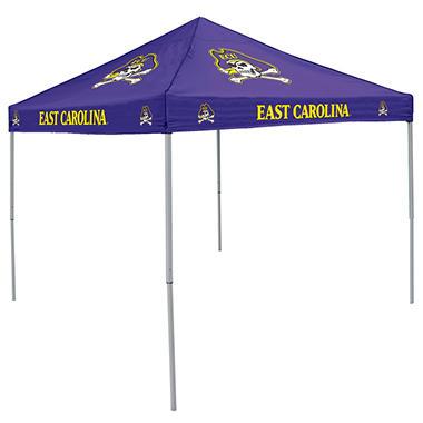 9x9 NCAA East Carolina Sams Canopy