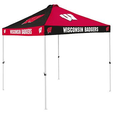 9x9 NCAA Wisconsin Sams Canopy