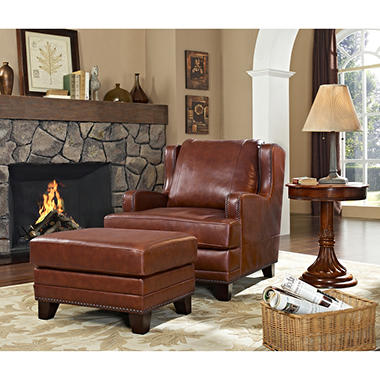 Pierce Chair & Ottoman