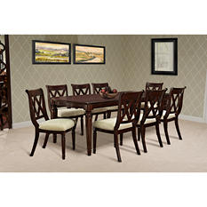 Chaney Table and 6 Chairs Dining Set