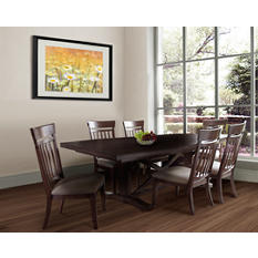 Deihl Table and 6 Chairs Dining Set