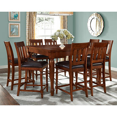 Victoria Counter-Height Table and Chairs, 9-Piece Set - Sams Club