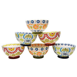 Artisan Hand-Painted Bowls